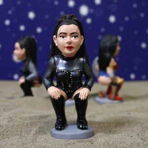 "New this Christmas: Catalan ""caganers"" of Rosalia, Greta Thunberg and Boris Johnson"