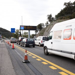 Catalan protesters start three-day block of main route south from France into Spain