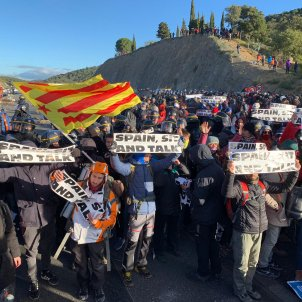 Border protest treated as 'road obstruction' case by France, 'terrorism' by Spain