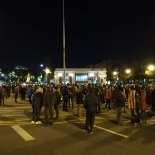 Barcelona's Avinguda Meridiana, blocked by protesters for 34th night in a row