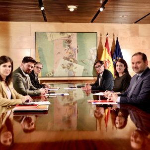 "Second PSOE-ERC meeting: joint statement and progress on the ""political path"""