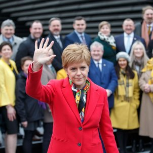 "Sturgeon places Scotland on 'Catalan path': ""You can't keep us against our will"""