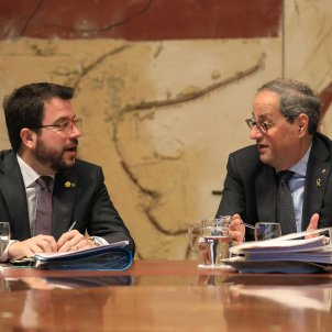 Pro-independence parties ERC and JxCat call meeting amid tension over Spanish pact