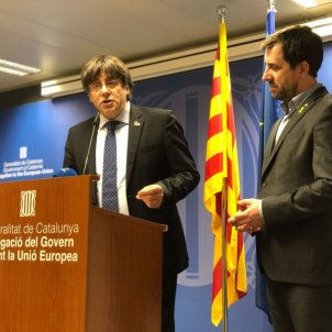 "Puigdemont calls for Junqueras's release, investigation into Spanish courts' ""malpractice"""