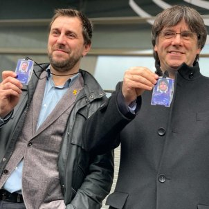 Puigdemont and Comín are now MEPs