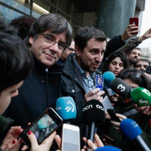 Carles Puigdemont, set to deal the Spanish state its most stinging blow
