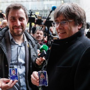 Belgian justice suspends European Arrest Warrants for Puigdemont and Comín