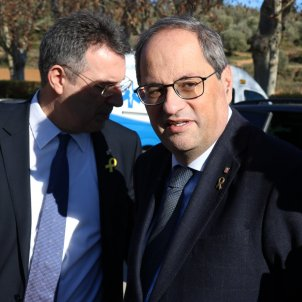 Catalonia's president Quim Torra ordered from office by Spanish electoral organ