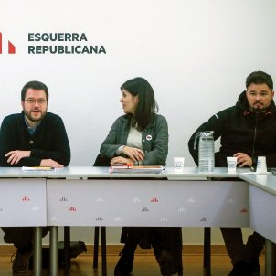 "ERC sees an ""opportunity"" in the Sánchez coalition and will decide on January 2nd"