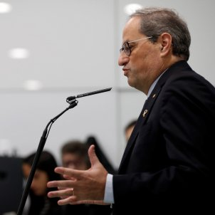 Quim Torra's veiled comment on Pedro Sánchez's investiture