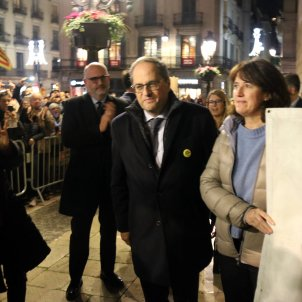Reactions of outrage as electoral body strips Catalan president Torra of office