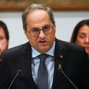 "Torra calls Parliament to respond to Friday's ""coup against the Catalan institutions"""