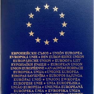 This is the new European passport which Carles Puigdemont will receive