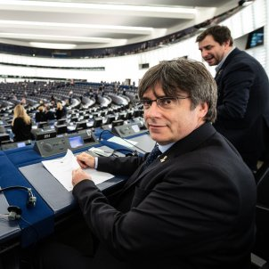"""Puigdemont on Spanish request he lose MEP immunity: """"We know what we have to do"""""""