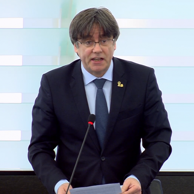 Puigdemont asks to refer arrest warrant to Court of Justice of the EU