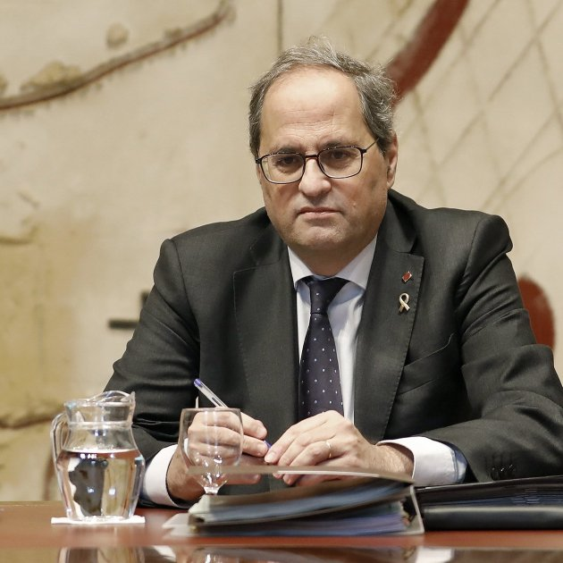 "Torra: ""Unsustainable pressure"" being exerted on Catalan Parliament to act against him"