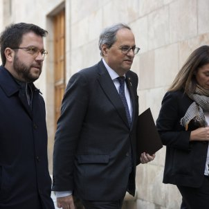 New move by Quim Torra to halt his disqualification before Parliament's Monday session