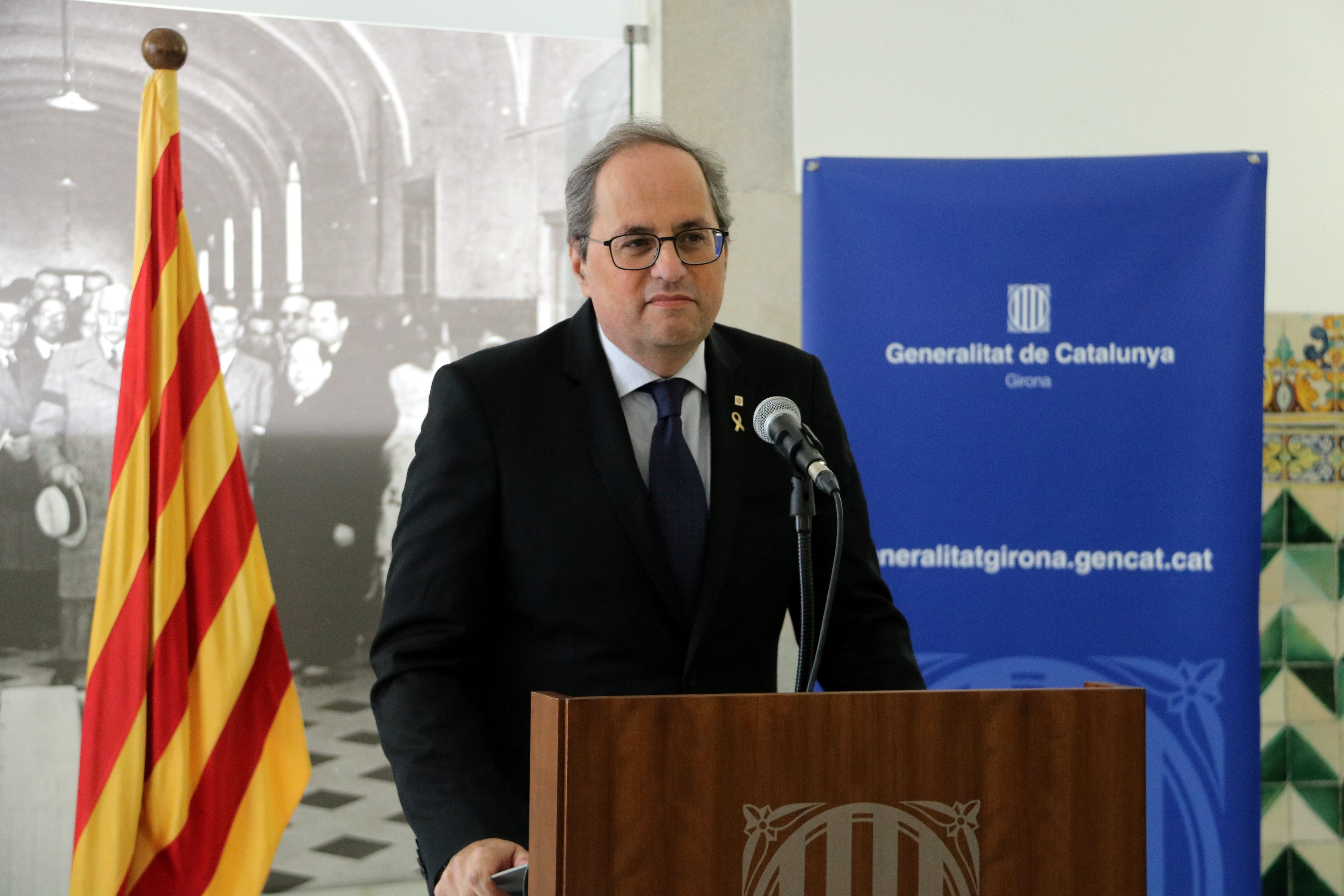 Catalan president rejects new Supreme Court decision to remove him from office - In English