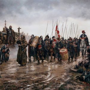 City of Madrid permits a reenactment of Spanish Empire's brutal Flanders armies