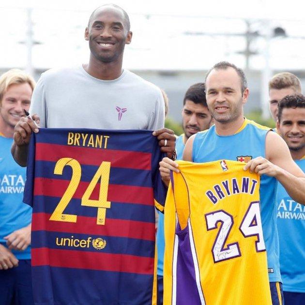 Barça mourns Kobe