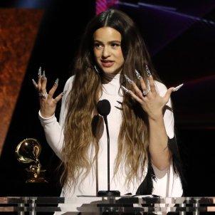 Rosalía, a star of the 2020 Grammys, gives heartfelt thanks in Catalan