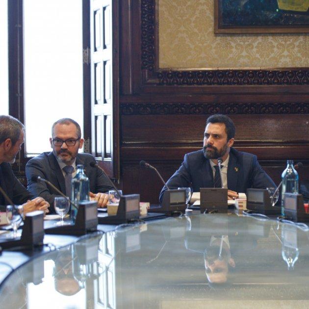 Catalan Parliament's Bureau accepts that Quim Torra is no longer an MP