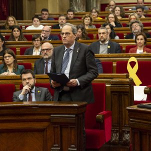 "Torra, denied his seat, demands it back: ""If not, the institutions will be at risk"""