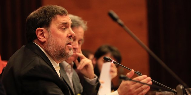 """Junqueras: """"I expect that the ERC candidate in the Catalan election will be me"""""""