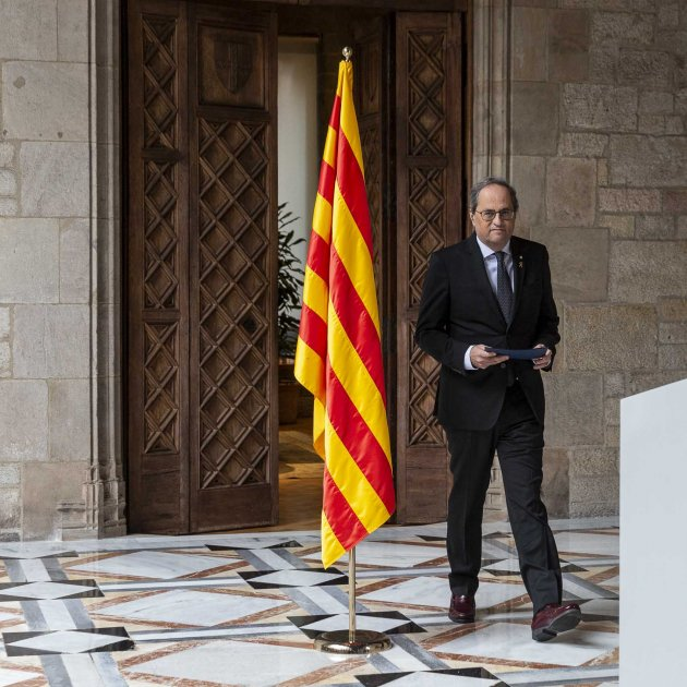 Torra says he'll call an early Catalan election once his budget is passed