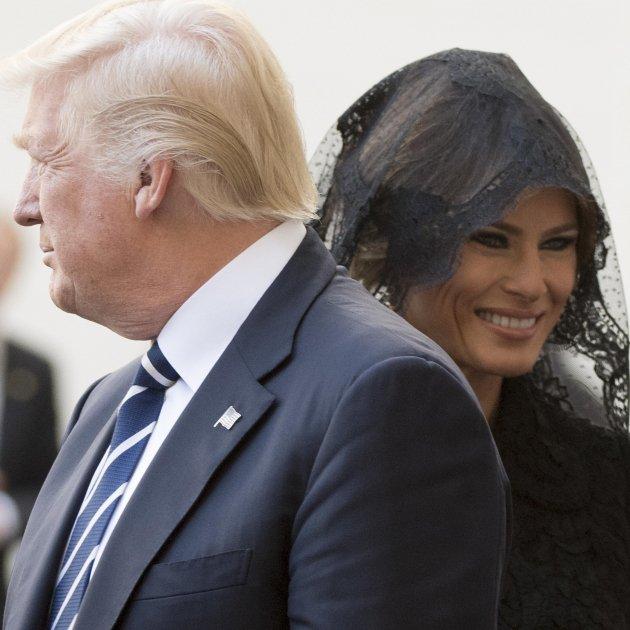 Melania Trump portada  EFE