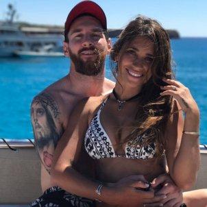 Antonella i Messi   Instagram