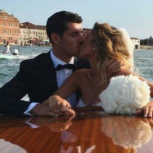 Morata boda   instagram