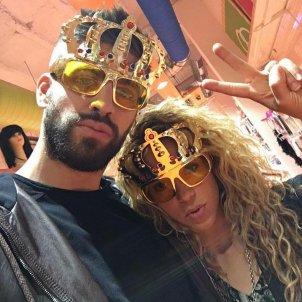 Shakira i Piqué corona   instagram