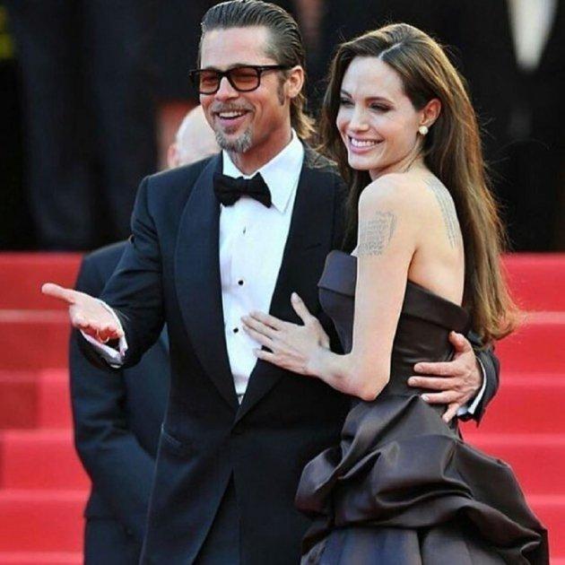 Angelina i Pitt   instagram
