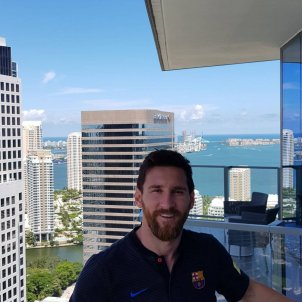 Messi a Miami  instagram