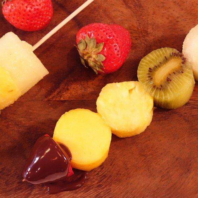 Broquetes de fruita - Roberto Lázaro