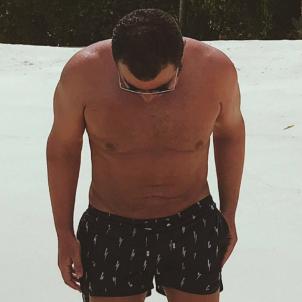 Jorge Javier Vázquez platja instagram