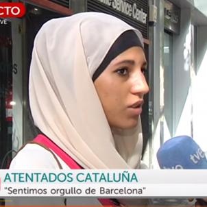 captura entrevista musulmana tve 3
