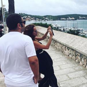 Jorge, Mila i Patiño  instagram