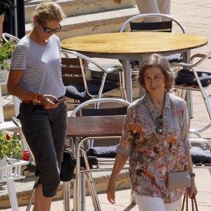 Reina Sofia i Infanta Elena  GTRES