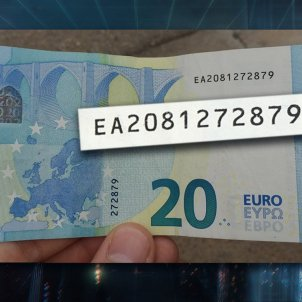 El Hormiguero bitllet 20 euros