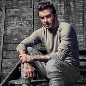 David Beckham gris  instagram