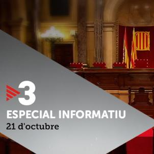 tv3 especial informatiu 21 octubre
