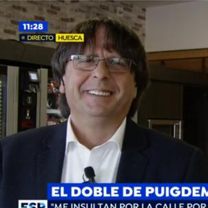 doble puigdemont   Antena 3