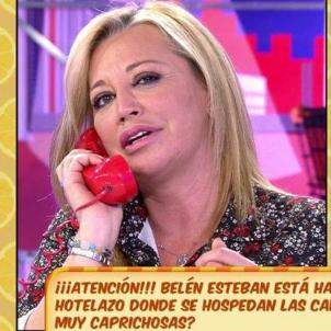 Belén Esteban telèfon  telecinco