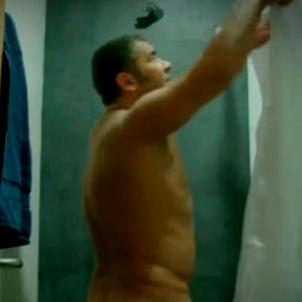 Jorge Javier dutxa  telecinco