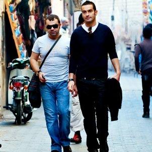 Jorge Javier Vazquez i novio  GTRES