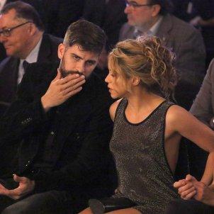 Shakira i Piqué seriosos  GTRES