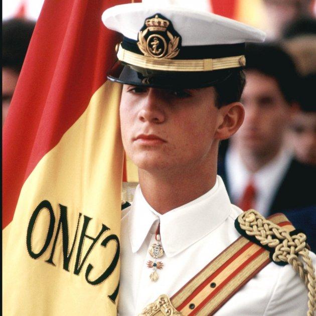 Felip VI a Juan Sebastian Elcano  GTRES