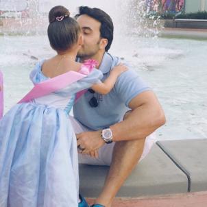 Luis Fonsi amb la filla  instagram